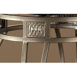 Hillsdale Montello 28 Inch Swivel Counter Stool Old Steel