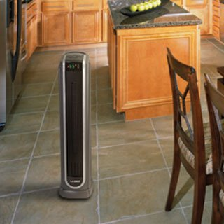 Lasko ENERGY EFFICIENT Ceramic Tower Heater with Multiple Heat Settings and Remote Control Included