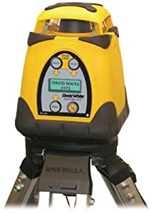 DAVID WHITE 48-3175-1 Laser Level Kit, Rotary, Dual Grade