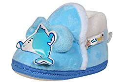 Ole Baby Cute Noddy Plush Soft Furry Organic 3d Ole Toons Booties 3-12 Months