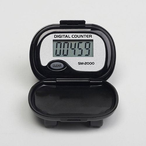 Cheap SM-2000 Step Pedometer (color: BLACK) (B001U8ECIM)