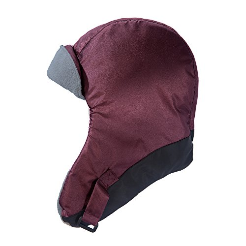 7AM Enfant Classic Chapka Hat 212, Metallic Plum/Black, Large
