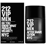 212 VIP Men by Carolina Herrera Aftershave Lotion 100ml