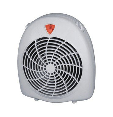 Pelonis Heater & Fan 600/900/1500 W 3 Heat Settings Cool Touch,Off-White