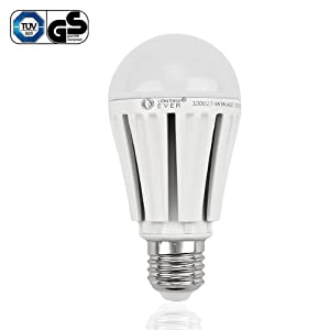 Lighting EVER® 12W A60 Super Bright LED Bulb, Samsung LED, Equal to 75W Incandescent Bulb, 1080lm, Warm White