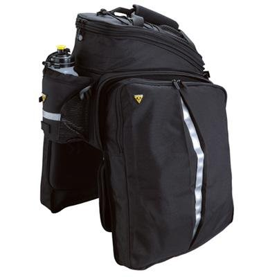 Topeak Trunk Bag DXP w/ Rigid Molded Panels and Velcro Straps - Black - TT9643B