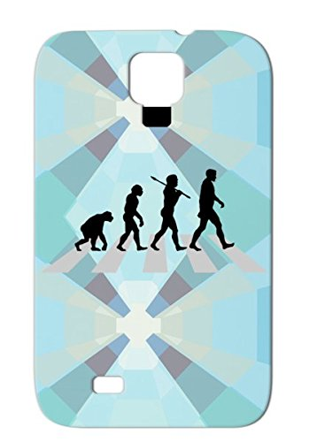 Shock-Absorbent Abbey Road Crossing Monkeys Chimp Funny Ape Jokes Funny Miscellaneous Humor Primates The Evolution Of Man Cover Case For Sumsang Galaxy S4 Silver Abbey Road Cross front-468433