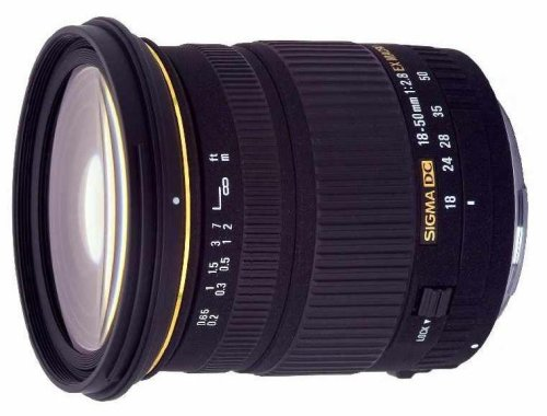 Sigma 18-50mm f2.8 EX DC Macro Digital Zoom Lens For Nikon Mount (Manual Focus Only With Nikon D40/D40X)