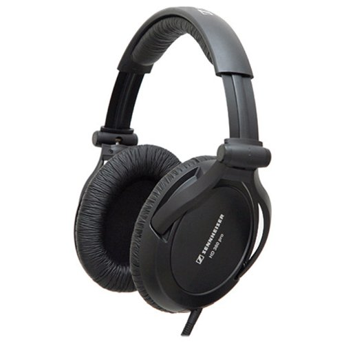Sennheiser Hd 380 Pro Collapsible High End Over-Ear Headset For Professional Monitoring Use (Black)