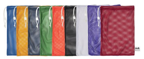 Champion Sports Mesh Equipment Bag (Multi, 12 x 18-Inch),Pack of 6