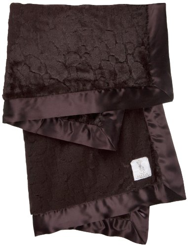 Little Giraffe Luxe Giraffe Baby Blanket, Chocolate