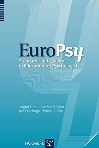 EuroPsy: Standards and Quality in Education for Professional Psychologists