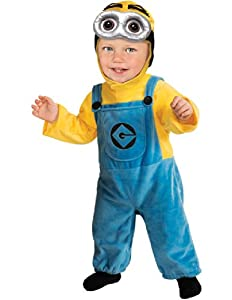 Toddler Minion Dave - Despicable ME2 - Childrens Fancy Dress Costume