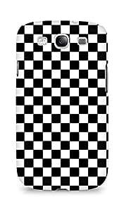 AMEZ designer printed 3d premium high quality back case cover for Samsung Galaxy S3 i9300 (checks)