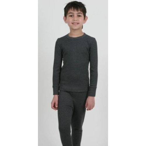 Boys Thermal Underwear Long Sleeve Vest and Long Pants
