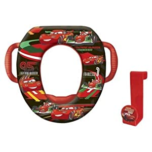 Disney Cars Toilet Seat With Handles