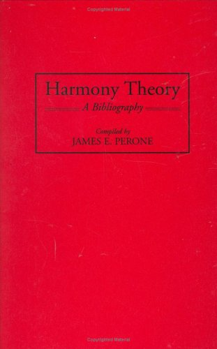 Harmony Theory: A Bibliography (Music Reference Collection)