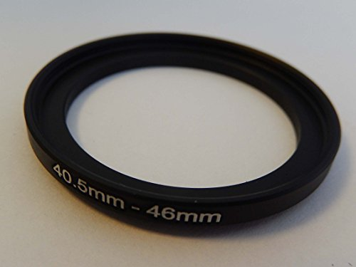 vhbw Step UP Filter-Adapter 40.5mm-46mm schwarz für Kamera Panasonic, Pentax, Ricoh, Samsung, Sigma, Sony, Tamron