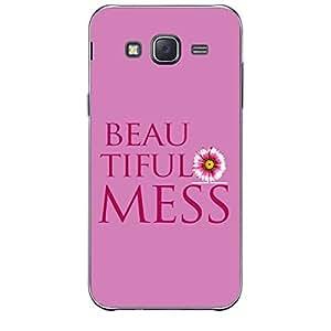 Skin4gadgets BEAUTIFUL MESS Phone Skin for SAMSUNG GALAXY J7