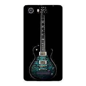 Stylish Greenish Print Guitar Back Case Cover for Micromax Unite 3