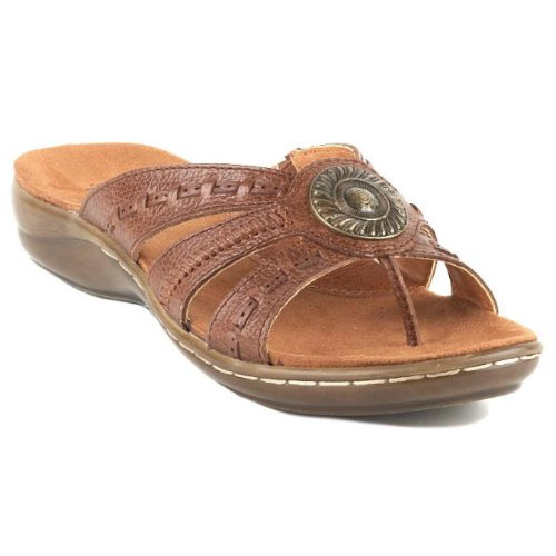 Women's BareTraps, Keefer Thong Sandal AUBURN 8.5 M at Amazon.com