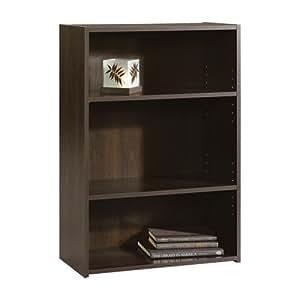 the sauder beginnings bookcase 3. Black Bedroom Furniture Sets. Home Design Ideas