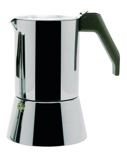 A di Alessi Espressomaschine aus Edelstahl