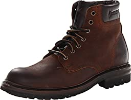 Frye Men\'s Freemont Lace-Up Work Boot Round Toe Whiskey 11 D(M) US