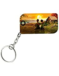 Best Friends | ShopTwiz WOODEN Key Ring - B01JW0CC5O