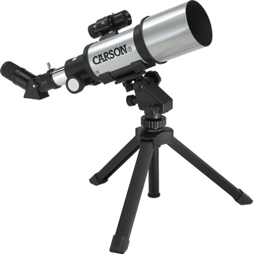 Carson SV-350 Sky 70mm Short Tube Wide Angle Refractor Telescope