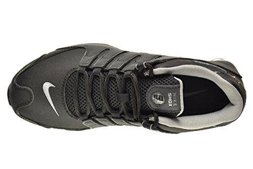 ba8ad19b182b5f pictures of Nike Shox NZ EU Men s Shoes Black Reflect Silver-Anthracite- Metallic