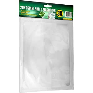 Stalwart  3x Magnifying Plastic Sheet