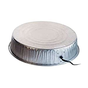 Farm Innovators Heated Base For Metal Poultry Founts Model HP-125, 125-Watt