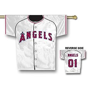 Anaheim Angels MLB 2 Sided Jersey Banner  by Fremont Die