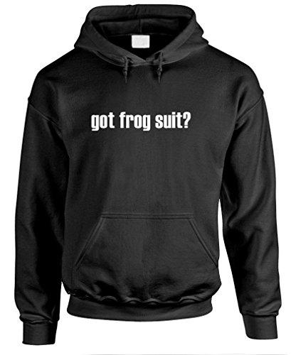 Got Frog Suit? - Mens Pullover Hoodie, S, Black