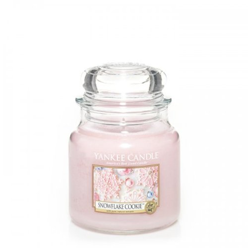 Yankee Candle Snowflake Cookie Medium Jar Scented Candle