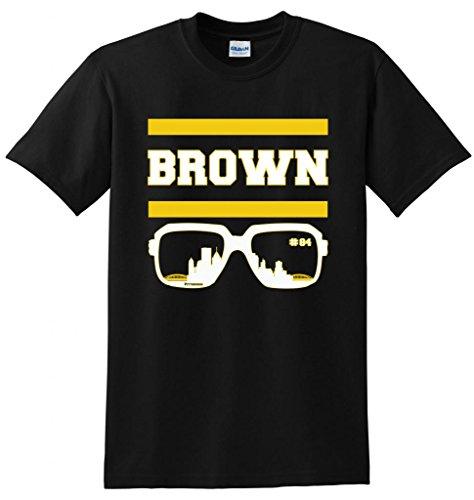 Youth Pittsburgh Steelers #84 Antonio Brown Grey Shadow Jersey