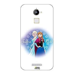 Hamee Marvel Lenovo A6000 Case Cover Disney Princess Frozen (Anna / Green Beauty)