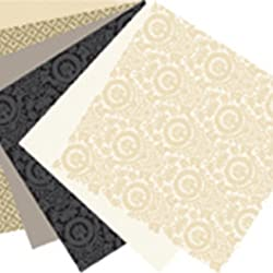 Martha Stewart Crafts Paper Pad, Neutrals, 12 by 12 inches, 42 Sheets