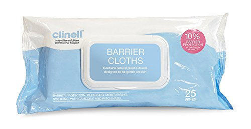 clinell-continenece-care-wipes-pack-of-25