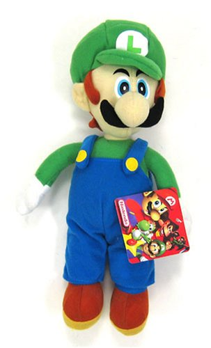 Super Mario brother Luigi Plush Doll 12 inches