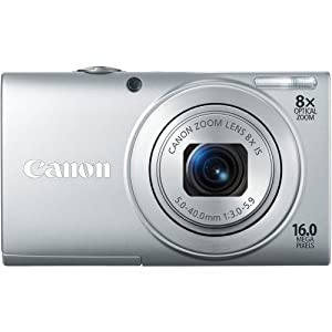 Canon Powershot A4000is 16.0 Mp Digital Camera With 8x Optical Image Stabilized Zoom 28mm Wide-angle Lens With 720p HD Video Recording And 3.0-inch Lcd Silver