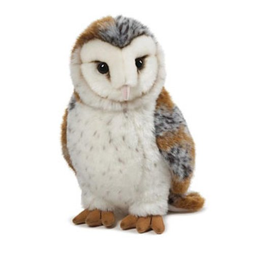 Owl gifts - Barn Owl Stuffed Animal<br>Webkinz