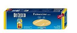 De Cecco Pasta, Fettuccine, 16 Ounce (Pack of 5)