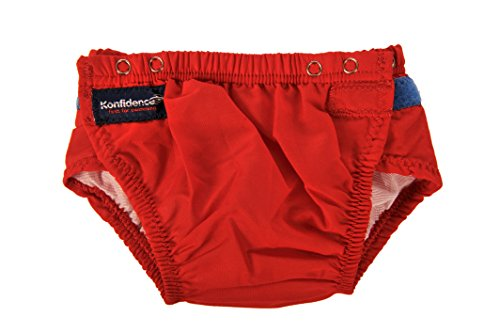Konfidence Aquanappy - Red - One Size