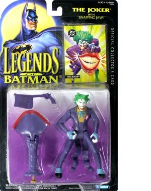 The Legends of Batman Joker with Snapping Jaw Action Figure