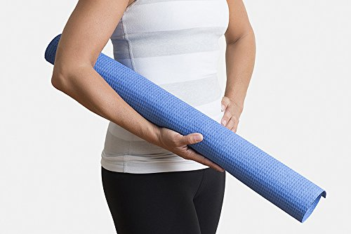 "Hot Yoga Microfiber Mat Towel - Non Slip, Both Sides Grip - By Yogazorb - 25""x72"" (Royal), 25""x72""/Navy"