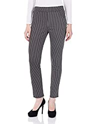 bYSI Womens Jegging Pants and Capris (70083_Black_30W X 28L)