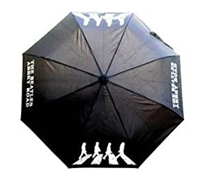 The Beatles Abbey Road Black Automatic Open & Close Umbrella
