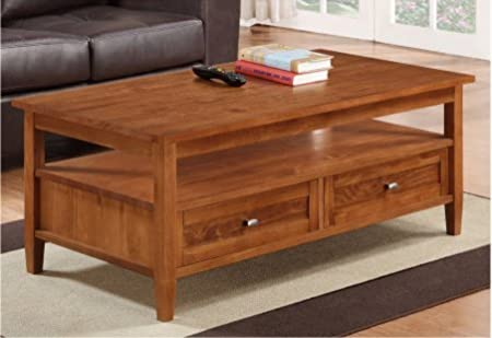 Norfolk Honey Living Room Wooden Brown Coffee Table